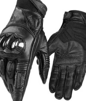 Motor Cycle Leather Gloves