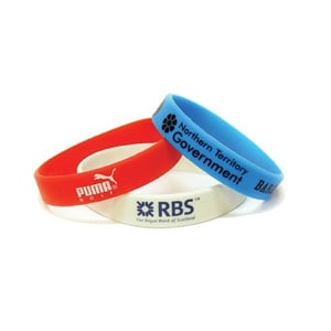 Promotional Printed Rubber Wristbands