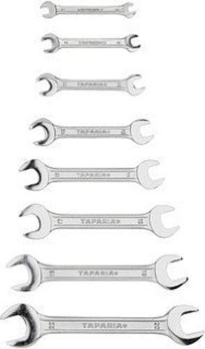 Steel Workshop Double Open End Spanner Set