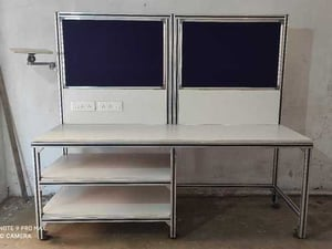 Aluminum Section Base Assembly Table