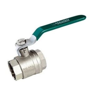 Zoloto 2 Inches Two Piece Forged Brass Ball Valve
