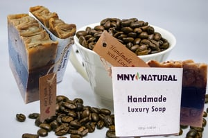 Handmade Luxury Soap Coffee with Shea Butter