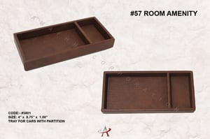 Leatherette Tray for Cars