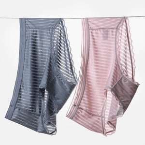 Cool and Breathable Spandex Brief Panty