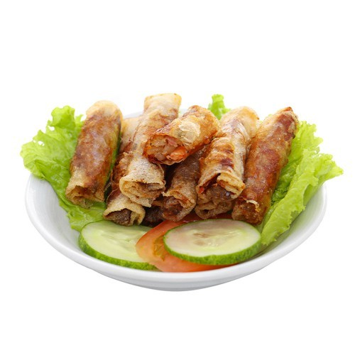 Delicious Frozen Spring Roll with Fresh Shrimp