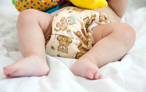 Comfortable Disposable Baby Diapers