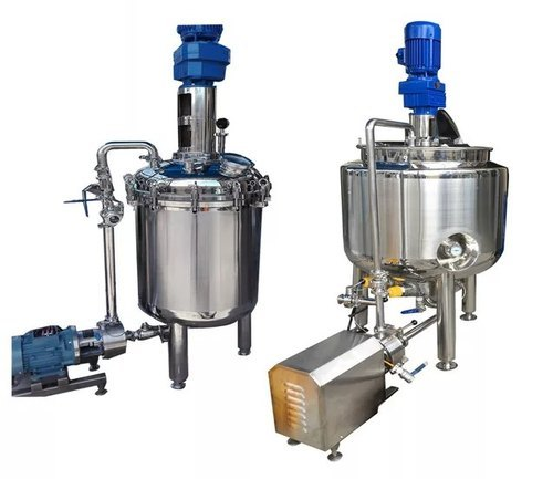 Homeopathic Liquid Syrup Making Machine