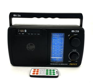 CTN 5 Band Rechargeable with Remote Control FM Radio Multimedia Speaker