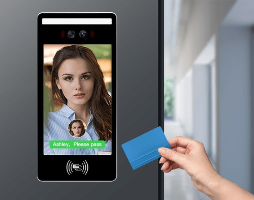 Desktop Face Recognition + IC Card Attendance and Access Control Systems