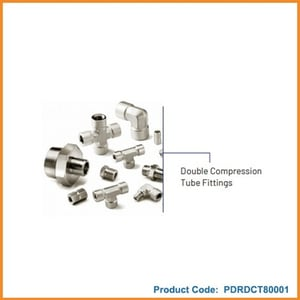 Double Compression Tube Fitting