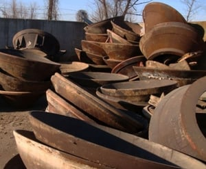 Manganese Steel Scrap For Recycling