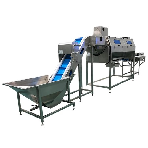 User Friendly Vegetable Processing Line
