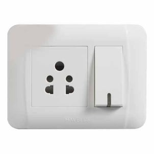 Havells PVC Modular Electrical Switches