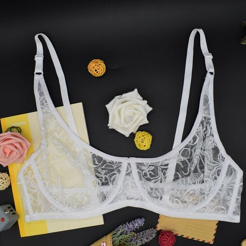Ladies Cotton Lace Bra
