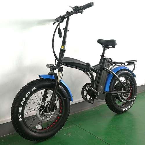 48V, 1000W Folding Electric Bike