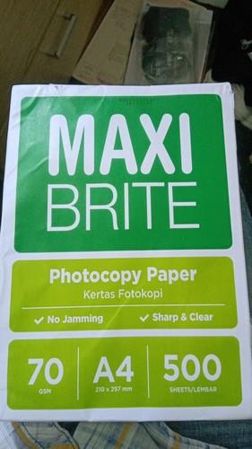 Maxi Bright Photocopy Paper 70GSM