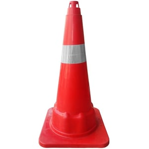 30 Inch Long Safety Cone (PVC)
