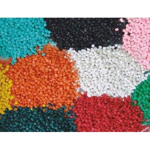 Multi Color Recycled PVC Compound