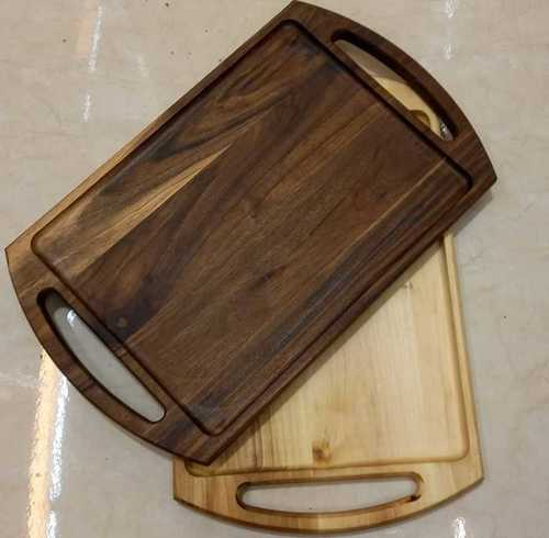 Smooth Finish Carved Wooden Tray
