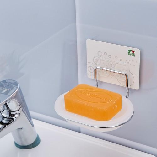 Adhesive Soap Dish Holder