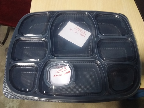 Plastic Disposable Food Tray