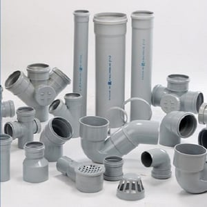 Astral Grey Plastic PVC Pipe Fitting