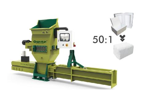 GREENMAX Styrofoam Compactor A-C100
