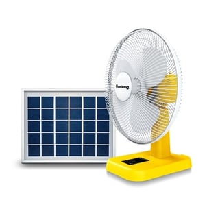 16 Inches 20W Solar Charge Table Fan
