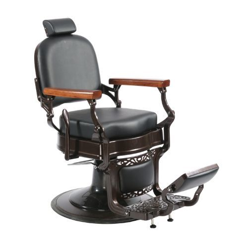 Height Adjustable Heavy Duty Salon Furniture Vintage Barber Chair