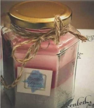 Scented Threads Varient Mason Jar Candle