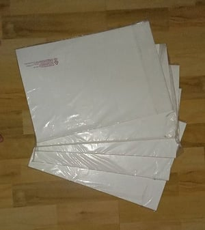 White Plain Synthetic Paper