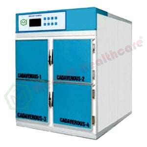 Medkm Weather Resistant Mortuary Chamber