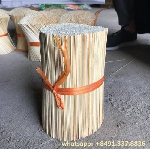 White Color Bamboo Sticks for Making Agarbatti
