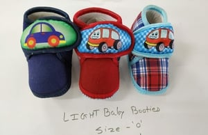 Colored Newborn Baby Shoes