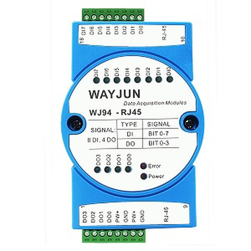 8 Di And 4 Do High Speed Ethernet Communication Socket