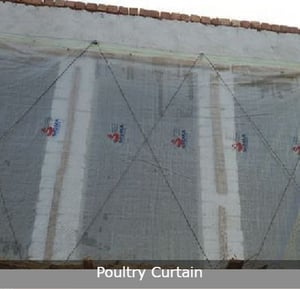 Climate Resistant Poultry Curtain