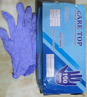 Nitrile Disposable Hand Gloves