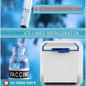 Portable Ice Lined Refrigerator for Vaccine and Medicine Storage