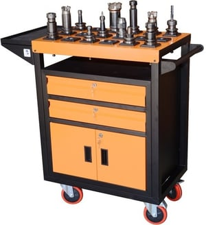CNC VMC Tool Holder Trolley and Storage