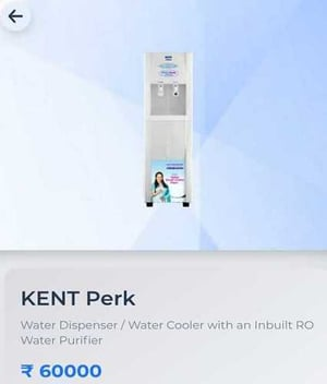 White Industrial Water Purifier