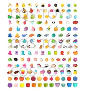 All Kinds Of Animal And Bath Toys