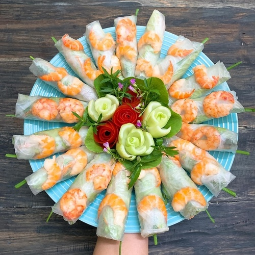 Net Spring Roll Wrapping Paper