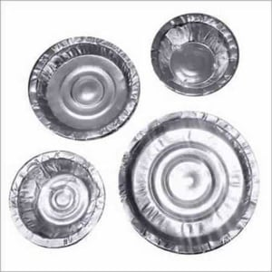 Silver Bowl and Plates