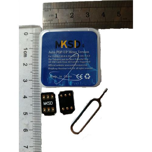 MKSD4 RSIM HEI Sim Card Connector iPhone ICCID Carrier