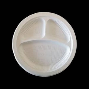 Disposable Thermacol Round Plates