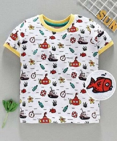All Baby Printed T Shirt