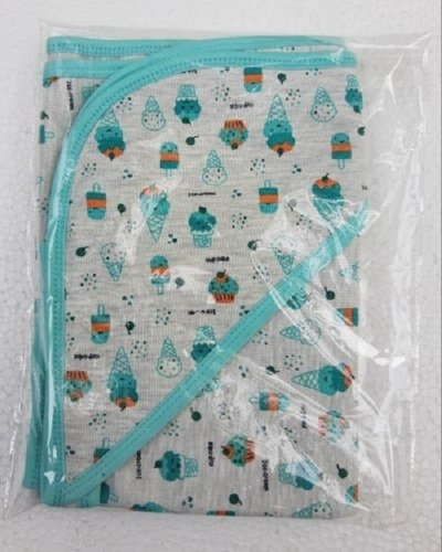 All Cotton Printed Baby Hooded Towel