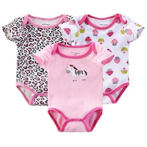 Printed Cotton Baby Romper