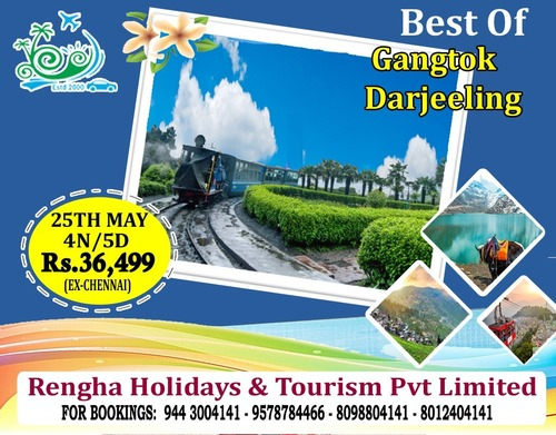 Tour Packages Services For Darjeeling
