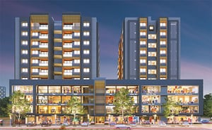 3 BHK, 2 BHK Flats, Shops And Offices Kalash Square Real Estate Development Services